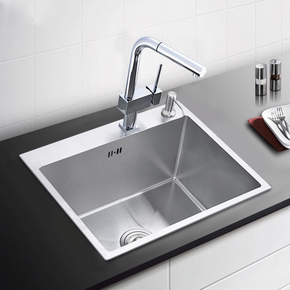 Einbauspüle Küchenspüle Spülbecken 2 Becken Spüle 55*45/50*40/80*45 ...