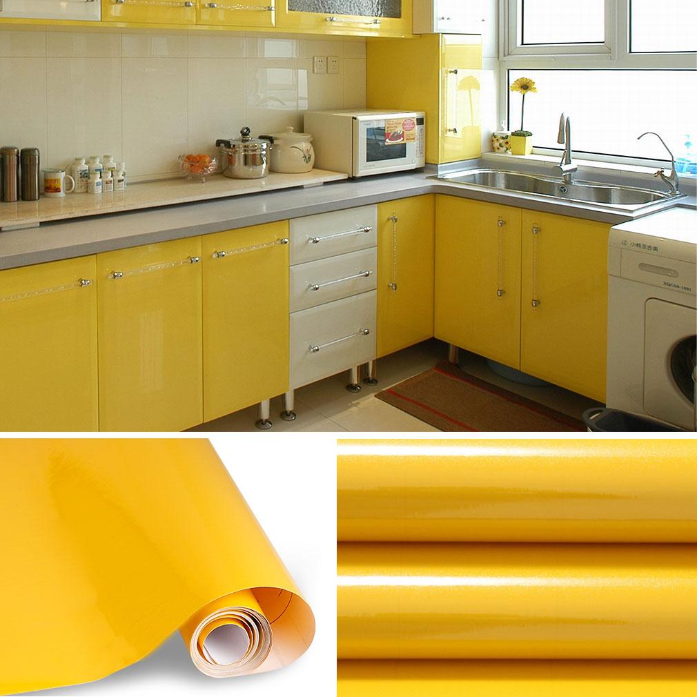 Carta adesiva 60 x 500cm per mobili cucina adesivo carta da parati cucina in pvc ebay - Carta parati adesiva per mobili ...