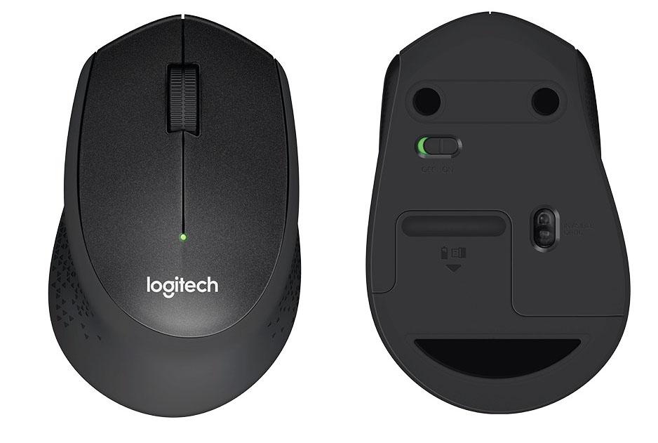d712cbc9cfc New Logitech M331 Silent Plus Mouse // Black | eBay