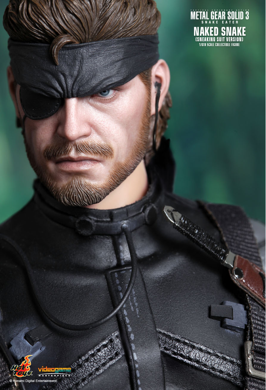 Metal Gear Naked Snake Sixth Scale Figure by Hot Toys