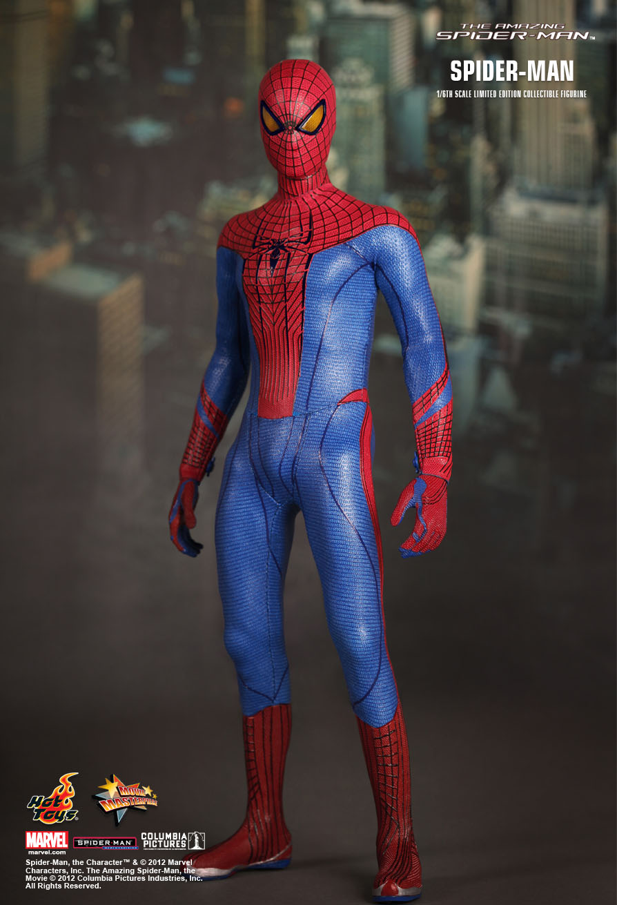 Spider Man Toys : Hot toys marvel the amazing spider man mms peter