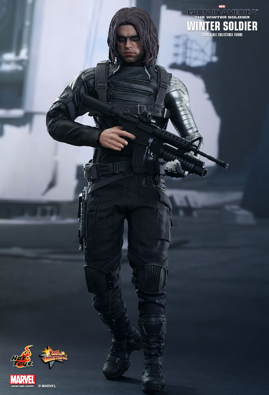 HOT TOYS 1/6 CAPTAIN AMERICA THE WINTER SOLDIER MMS241 ...