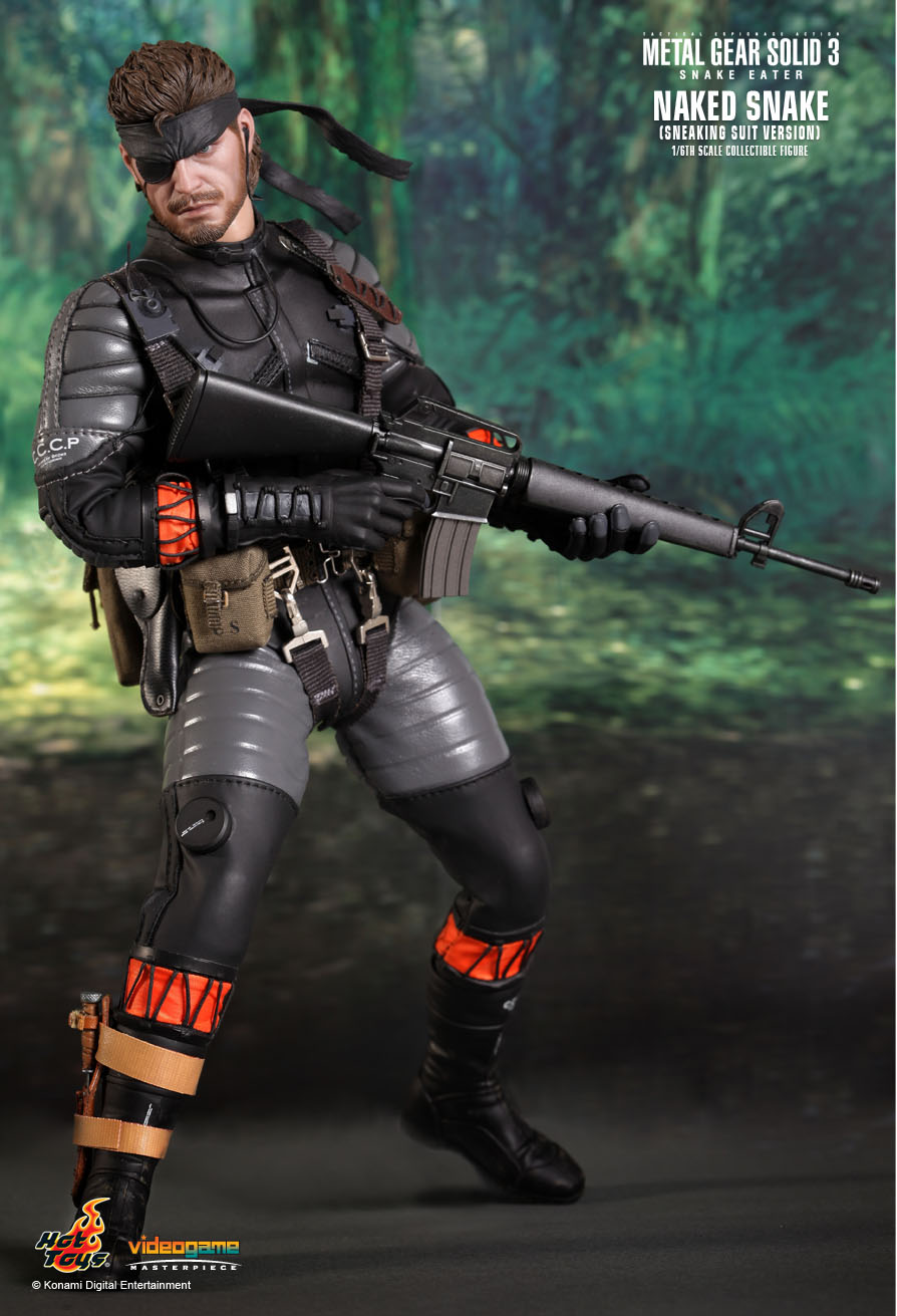 HOT TOYS 1/6 METAL GEAR SOLID 3 VGM15 NAKED SNAKE SNEAKING