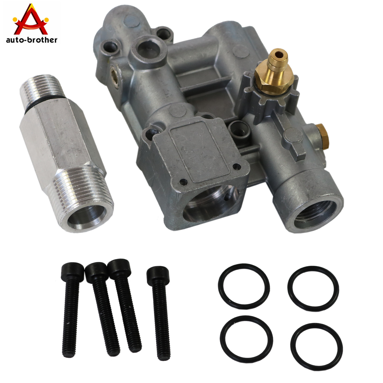 Pressure Washer Manifold Kit for Briggs Stratton 020228 16031 190627GS Craftsman