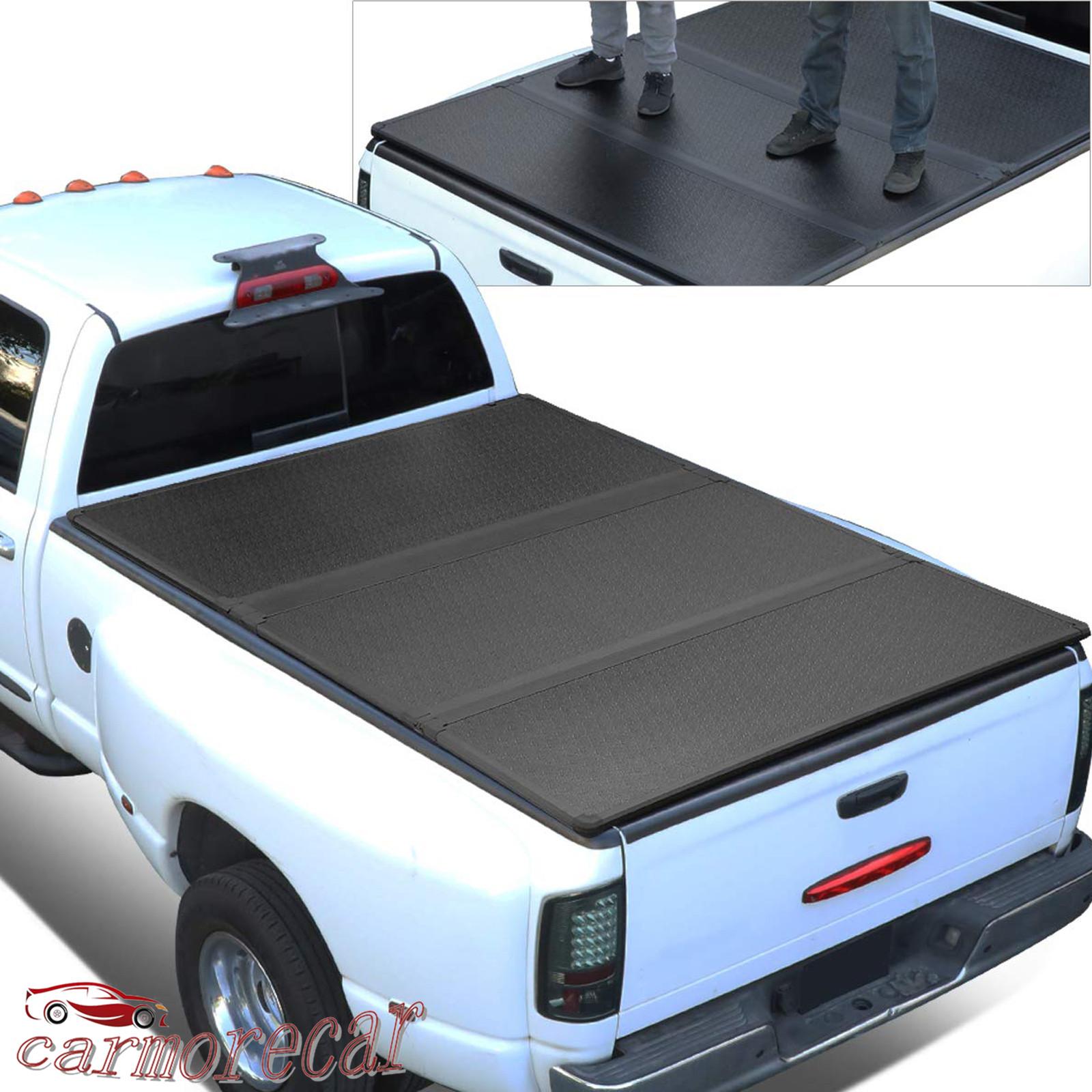 Hard Tri Fold Truck Bed Tonneau Cover 6 6 78 8 For Silverado
