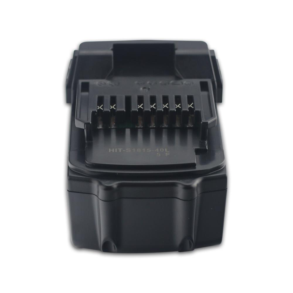 hitachi 6 0ah battery. new 18v 4.0ah lithium ion battery for hitachi bsl1815x bsl1830 bsl1840 330139 6 0ah u