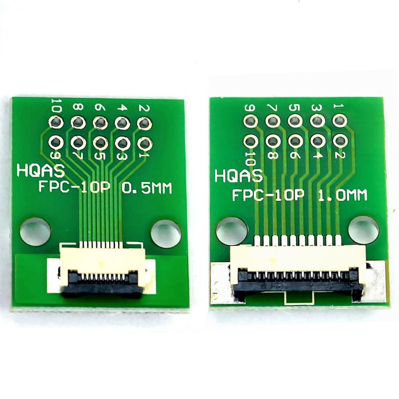 FFC FPC 20Pin Pitch 1.0mm to 0.5mm or 0.5mm to 1.0mm PCB Converter Board Adapter
