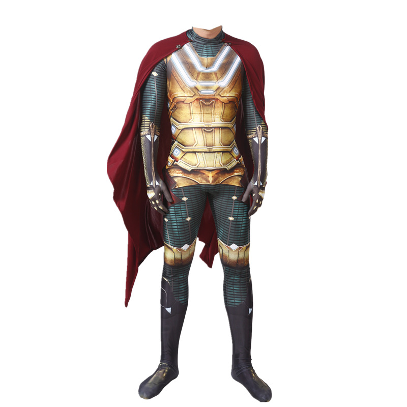 Spider-Man: Far From Home Mysterio Jumpsuit Cosplay ...
