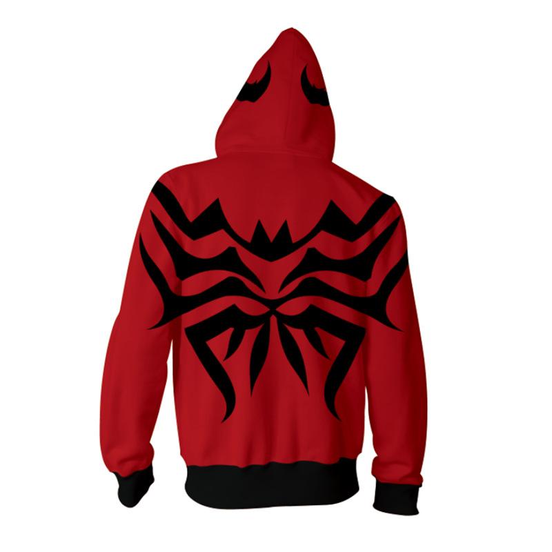 Venom 2 Carnage Hoodies Coat Sweatshirt Cletus Kasady ...