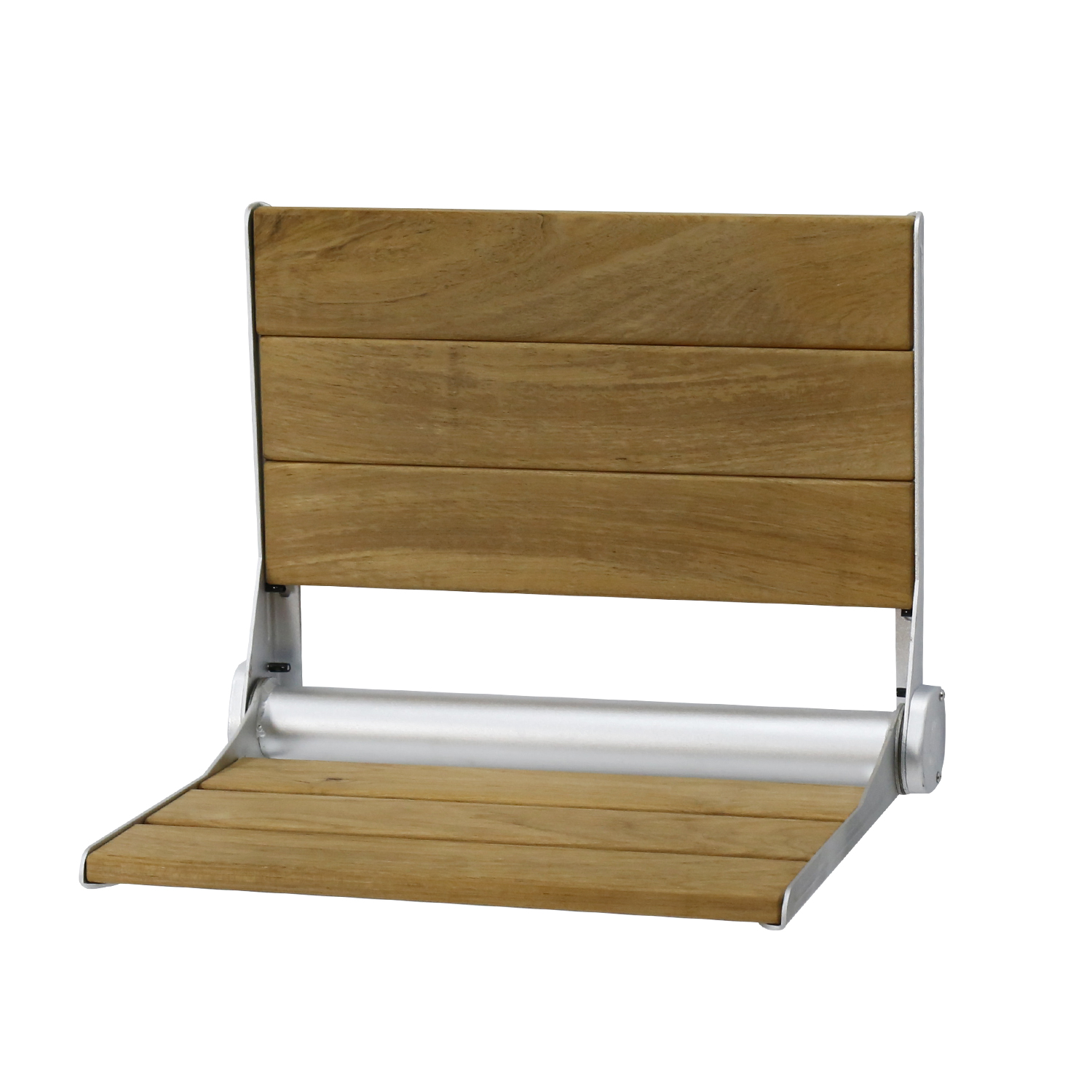 Wood Foldable Shower Seat Wall-Mounted Bath Bench Bathroom Medical ...