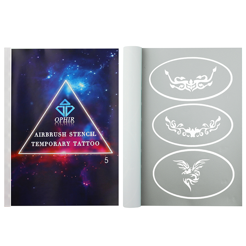 Ophir Airbrush Temporary Tattoo Stencil Template 30 Patte...