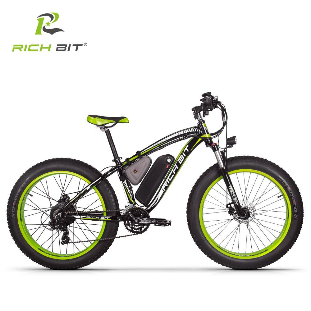 richbit elektrofahrrad 26 zoll herren e bike mountainbike. Black Bedroom Furniture Sets. Home Design Ideas