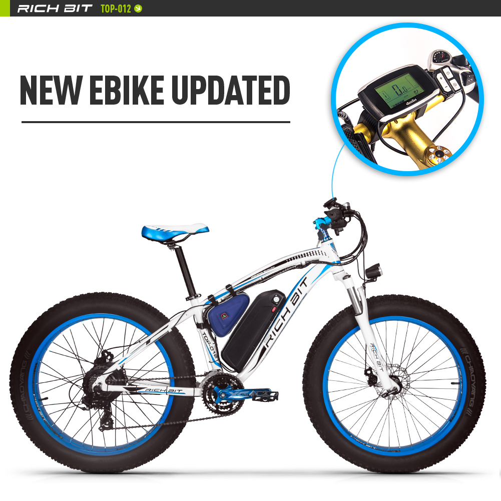 RICHBIT-Fat-Tire-ebike-21sElectric-Bike-48V-1000W-Bicycle-Compute-Speedometer