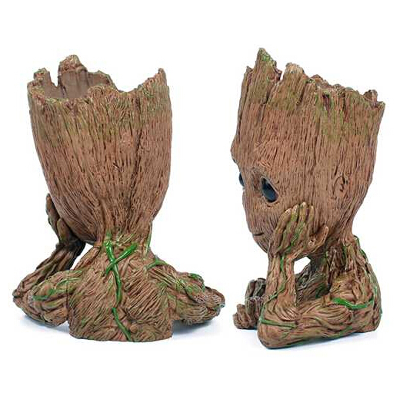 """Guardians of The Galaxy Vol. 2 Baby Groot 7"""" Figure Flowerpot Style Toy Gift Hot"""