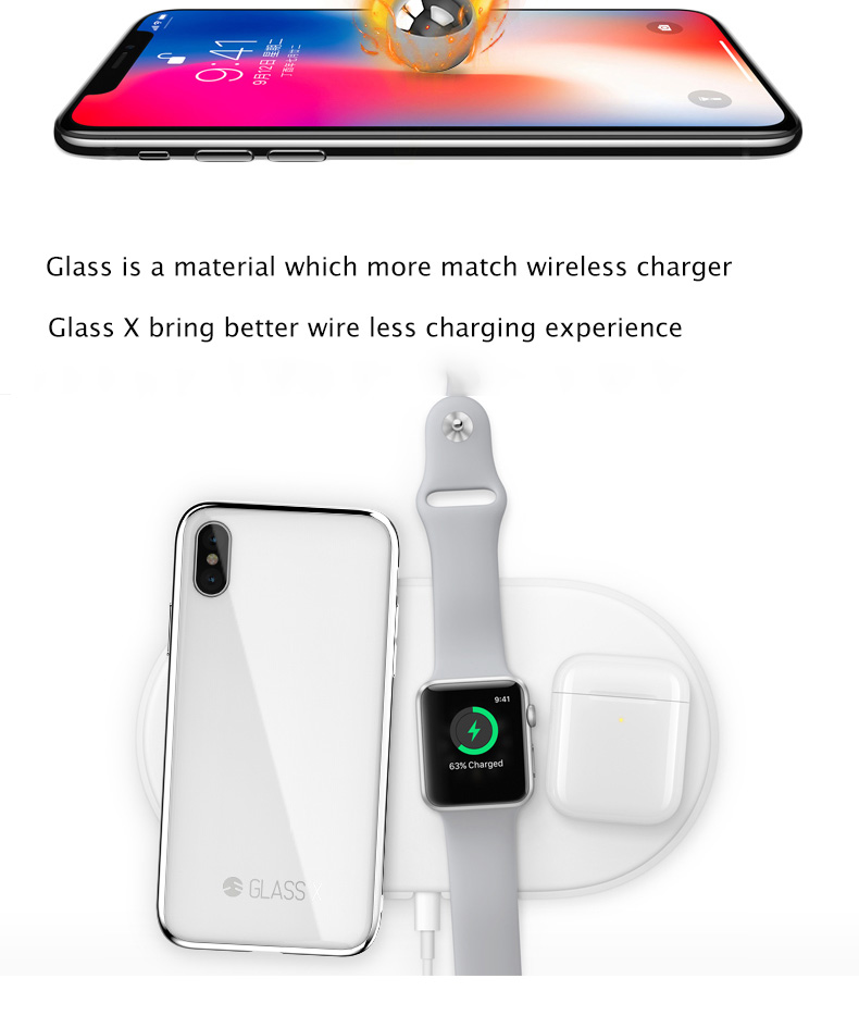 SWITCHEASY IPHONE X 8 7 GLASS X 9TH GORILLA CORNING GLASS THIN LIGHT ...