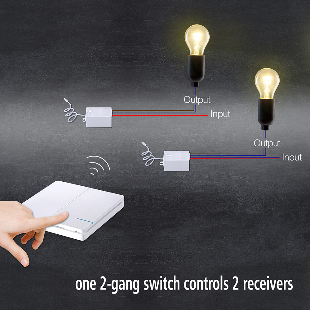 Controlled By Two Switches Power Through Light Two Three Way Switches