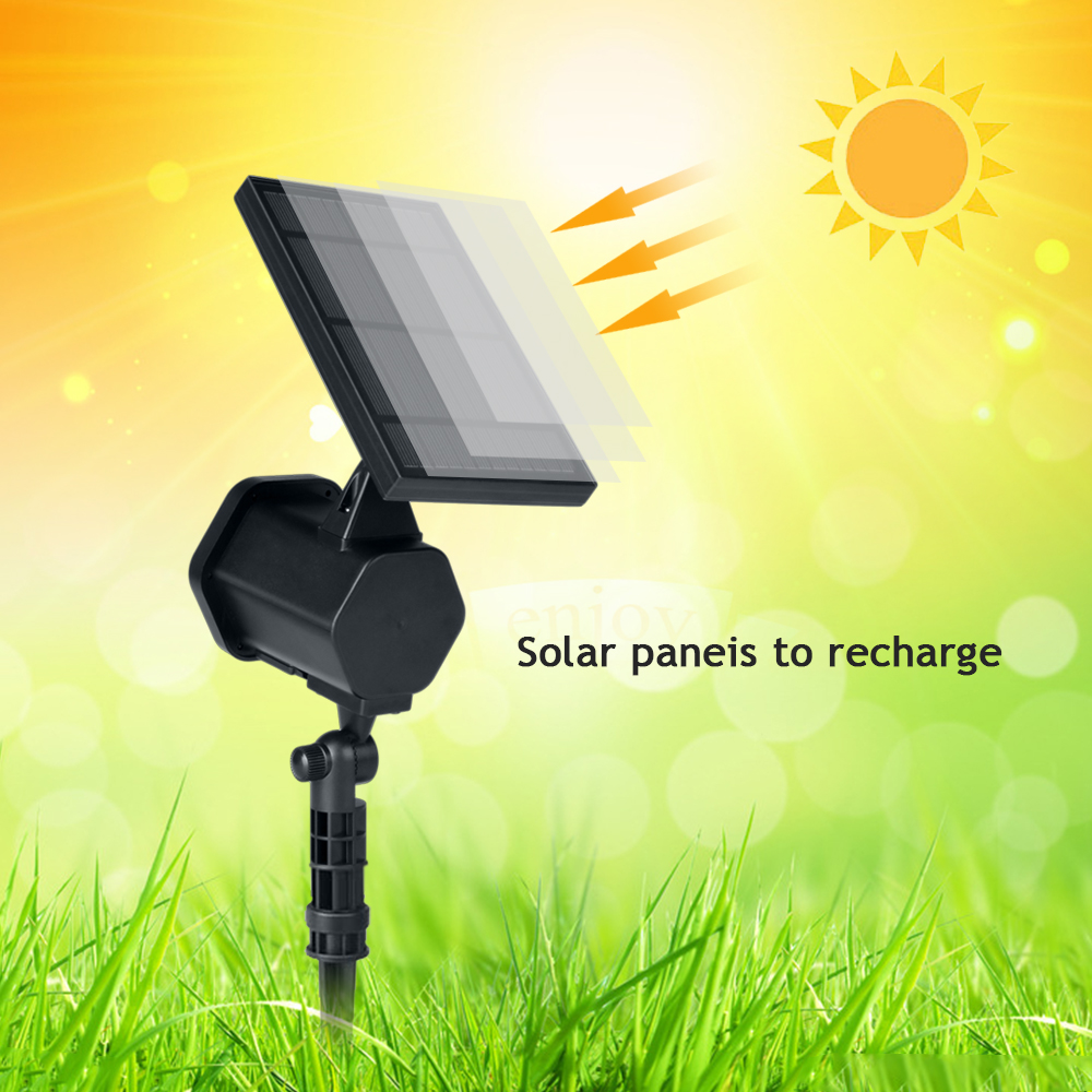 Solar Laser Projector Light Outdoor LED Waterproof Garden Party ...