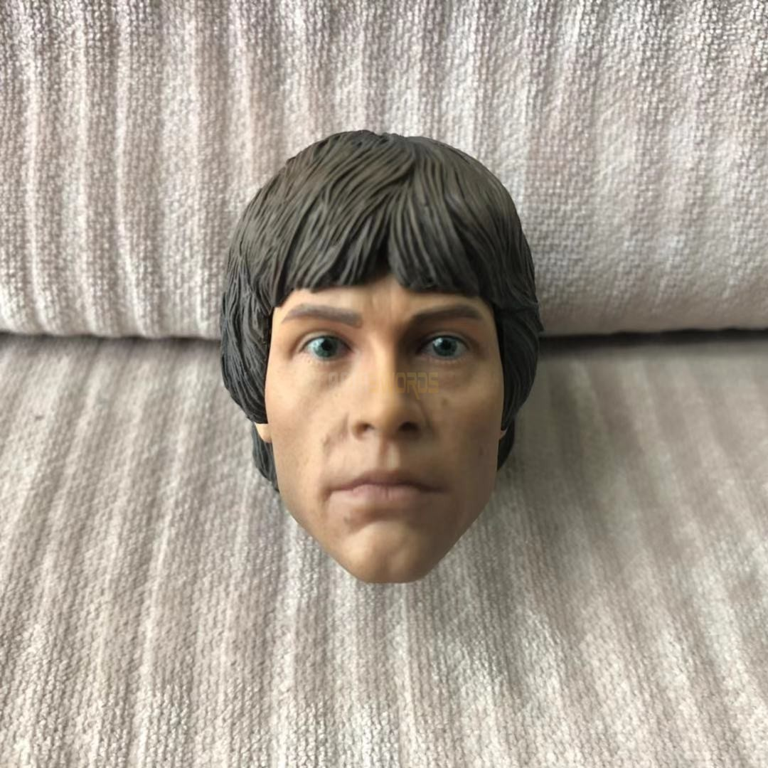 "1//6 Scale Star Wars Luke Skywalker Head Sculpt Fit for 12/"" Action Figure Body"