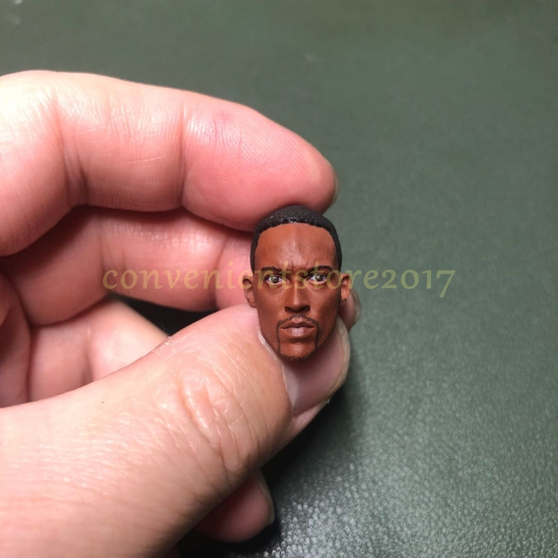 "Painted 1//12 America President Barack Hussein Obama Head Sculpt fit 6/"" Figure"