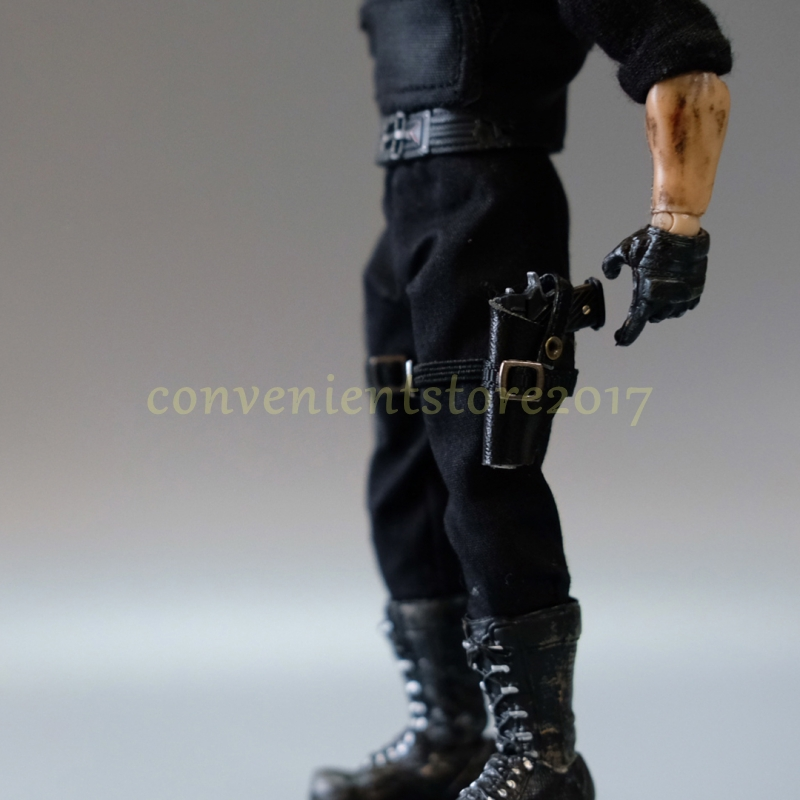 """Handmade 1//12 Scale Pistol Holster Case fit 6/"""" Figure 3Atoys One:12 Punisher"""