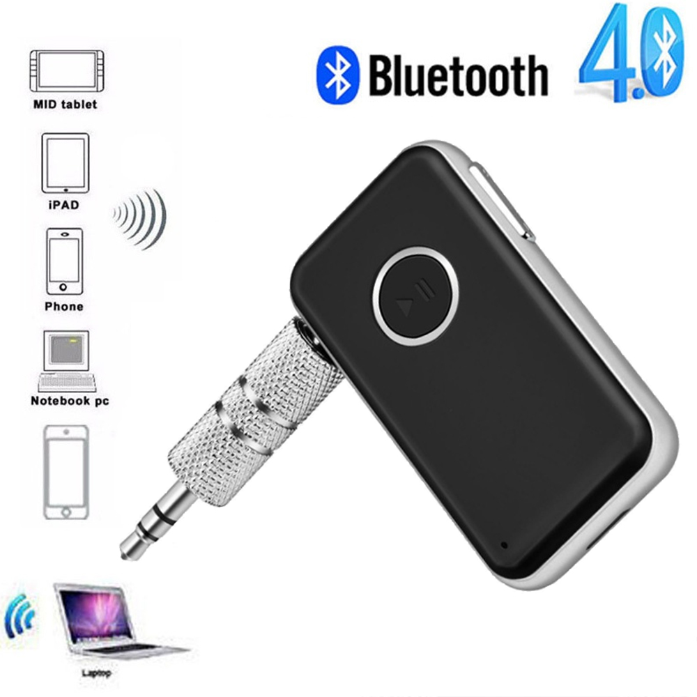 Protable Wireless Bluetooth Receivers Handheld 3.5mm Audio AUX Receiver Adapters