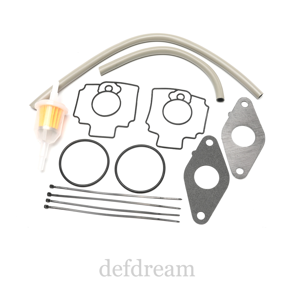 FD620 FD620D Carb Carburetor Rebuild Kit For John Deere Mower 345 425 445
