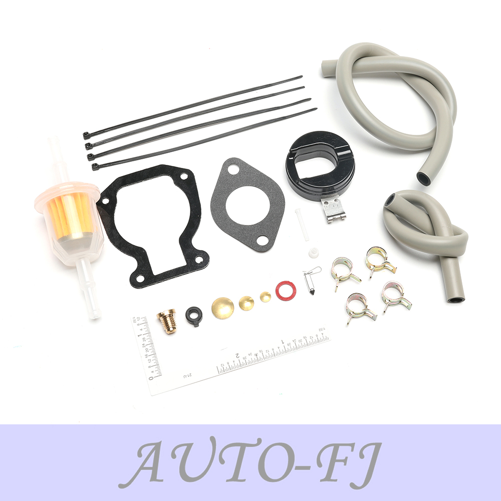 Carburetor Carb Kit w//Float For Johnson Evinrude 9.9 HP 15 HP 1974-1988 398453