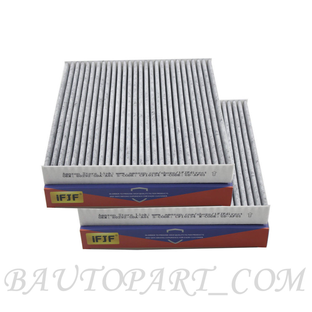 2 PACK CF10134 Replacement Fresh Breeze Cabin Air Filter