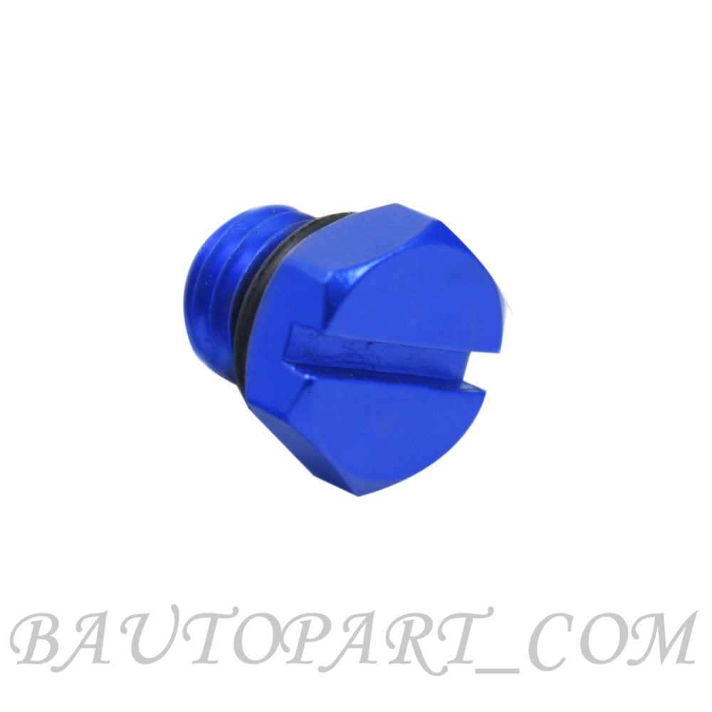 Fuel Filter Housing Bleeder Screw For Gm 2001 2017 Duramax Diesel Blue