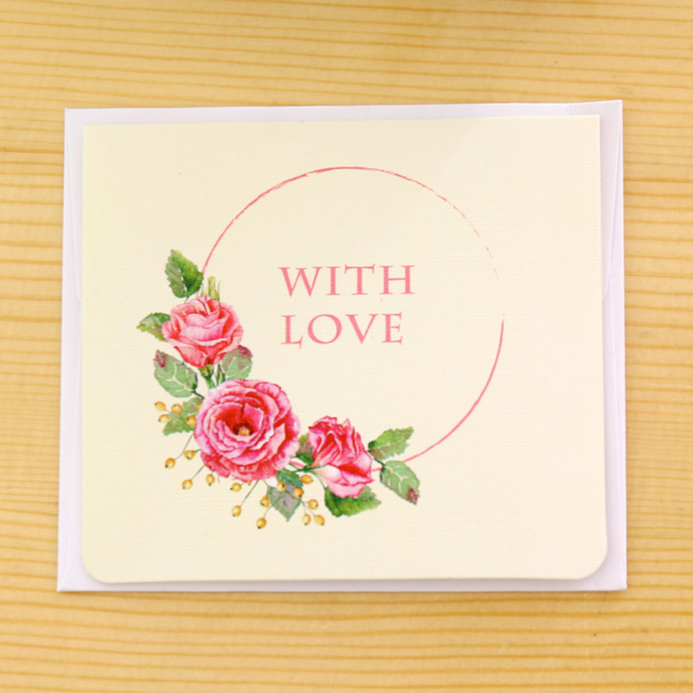Flower Greeting Cards For New Year Flowers Healthy