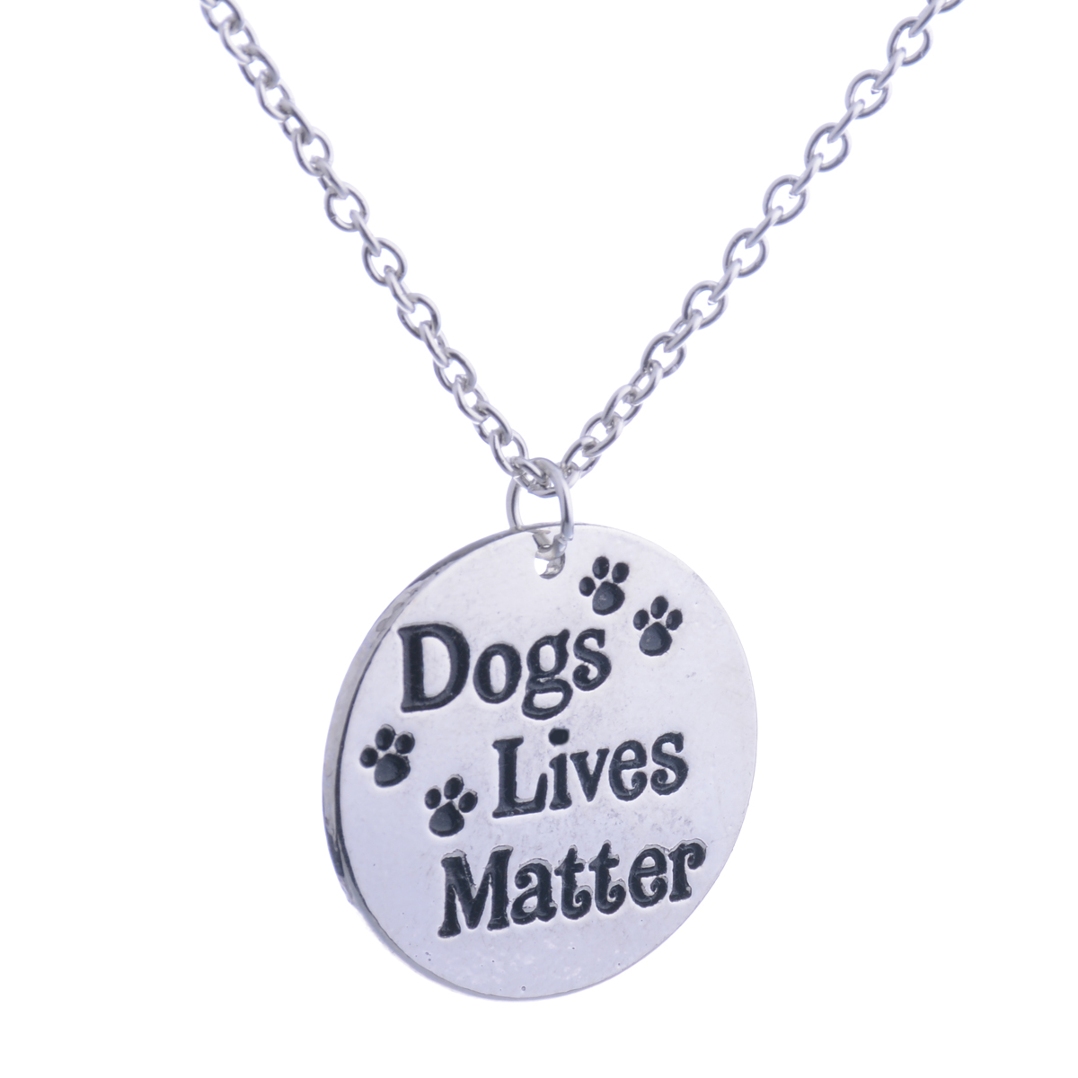 Dog Pet Paw Heart Love Dad Mom Matter Grey\'s Anatomy Necklace ...