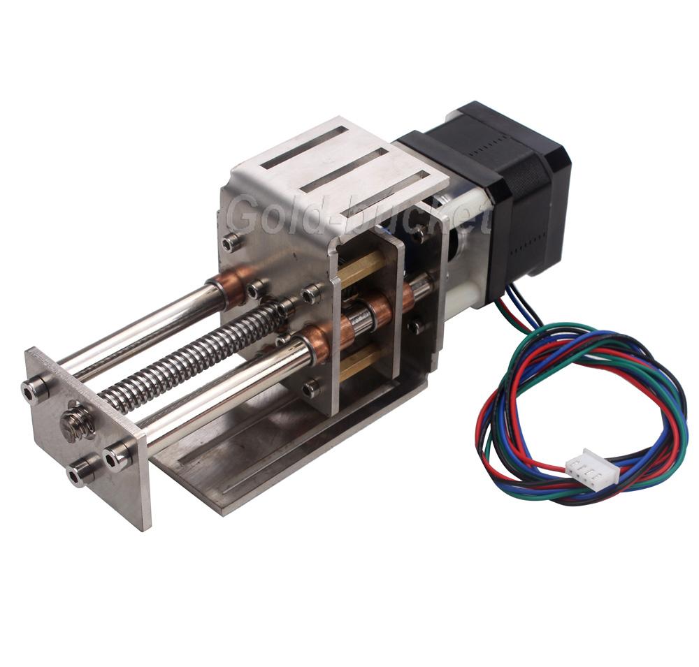 Mini CNC Z Axis Slide 60MM DIY Linear Motion Milling 3