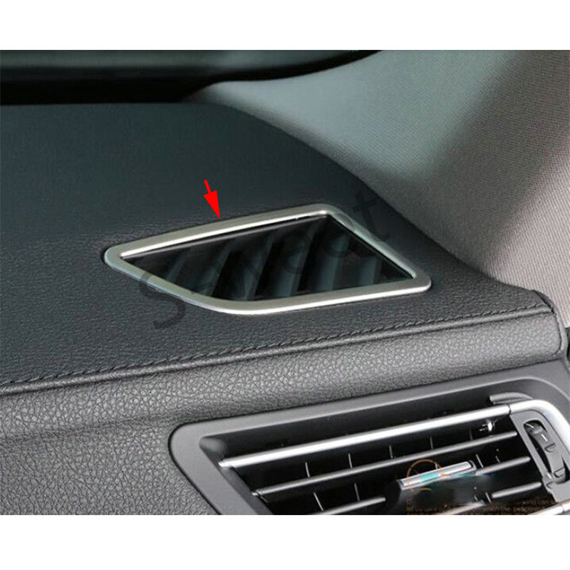 Molding Trim Dashboard Corner AC Air Vent Cover For BMW 7 Series F01 F02 10-15