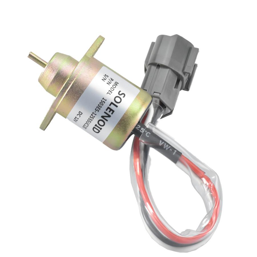 119233-77931 1503ES-12S5SUC12S Fuel Cut Solenoid for Yanmar 119233-77932