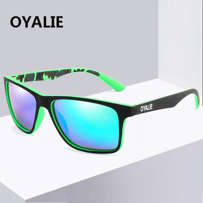 Men Women Polarized Sport Sunglasses Outdoor Driving Fishing Square Glasses Hot