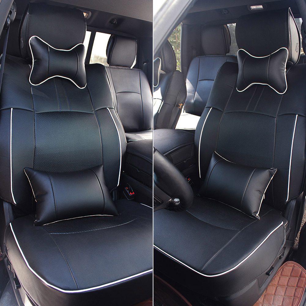 Black Car Seat Cover For Dodge Ram 1500 2500 3500 2009