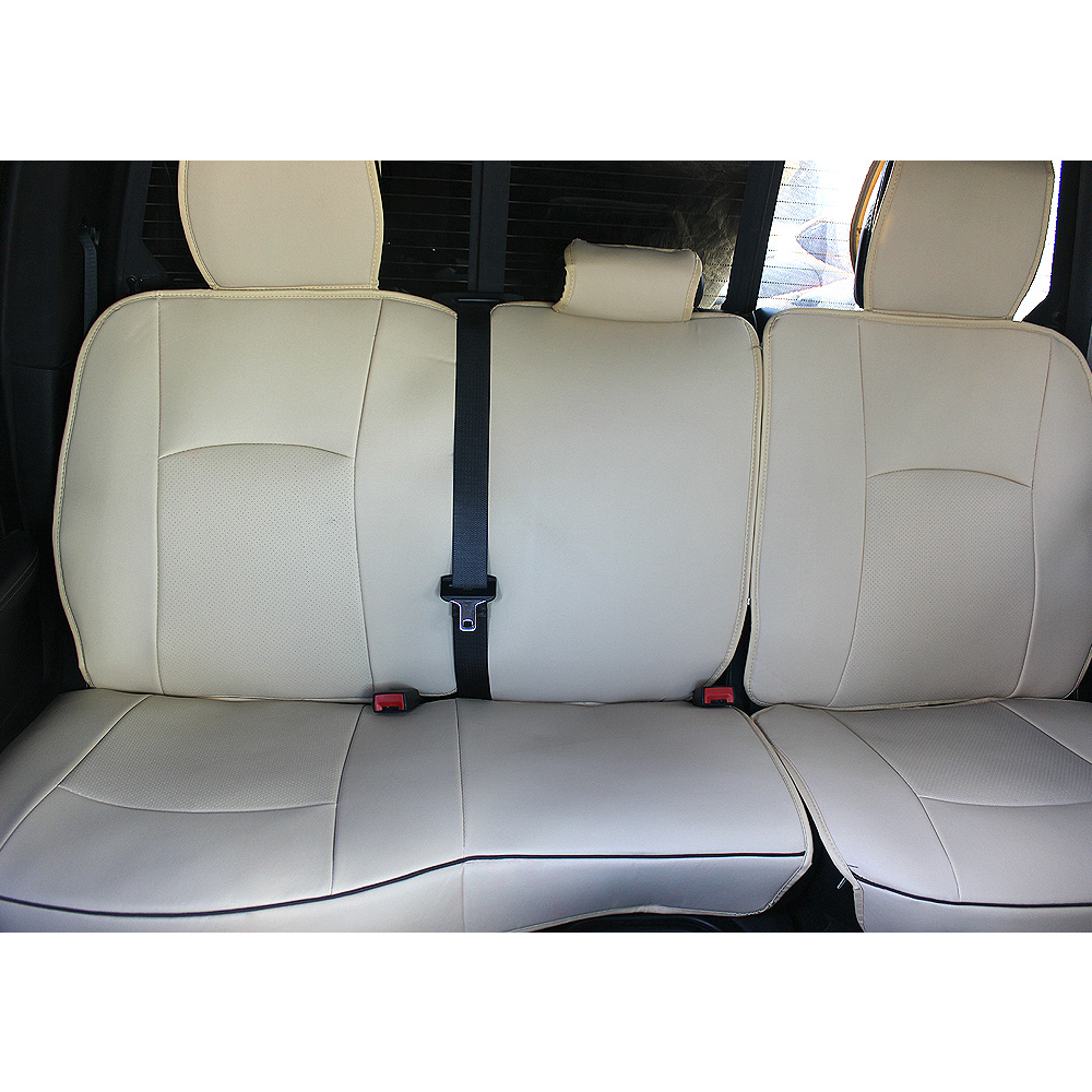 Beige Car Seat Cover For Dodge Ram 1500 2500 3500 2009