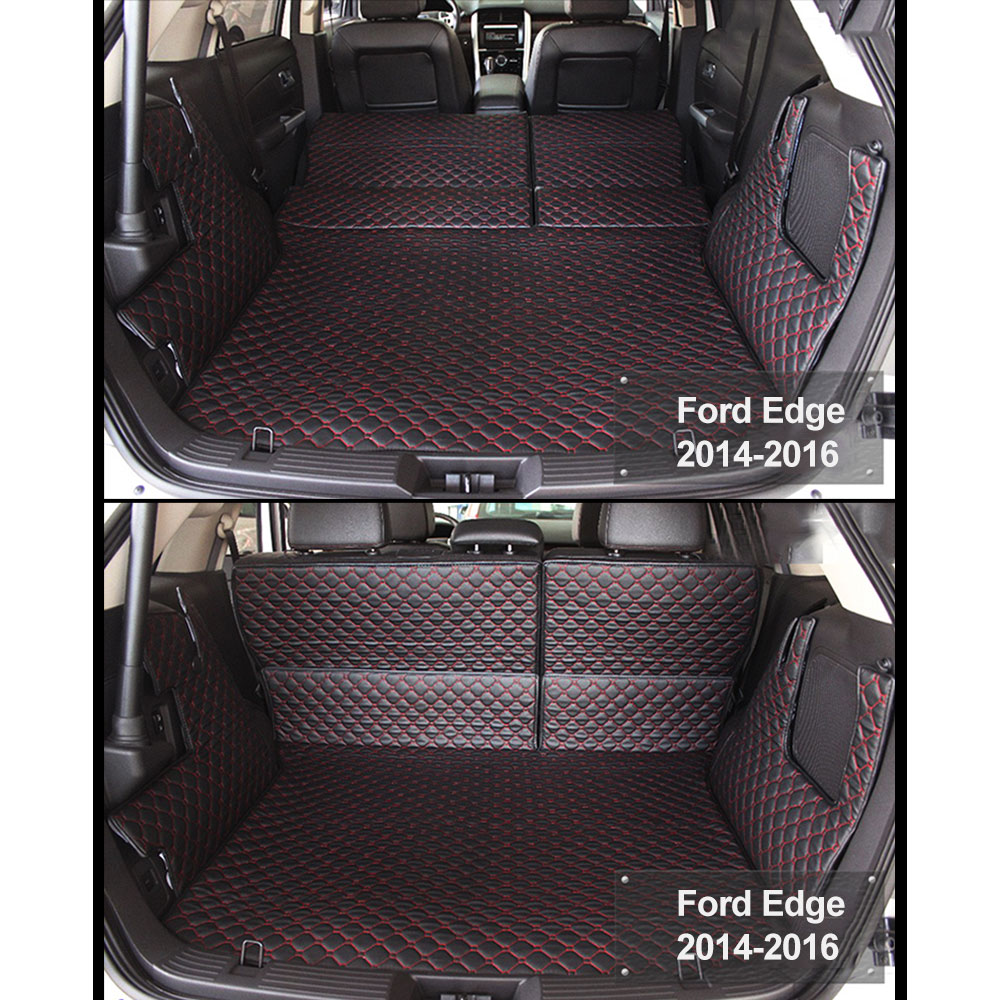 Car Trunk Boot Liner Mat Carpet For Ford Edge   Years Full Cover