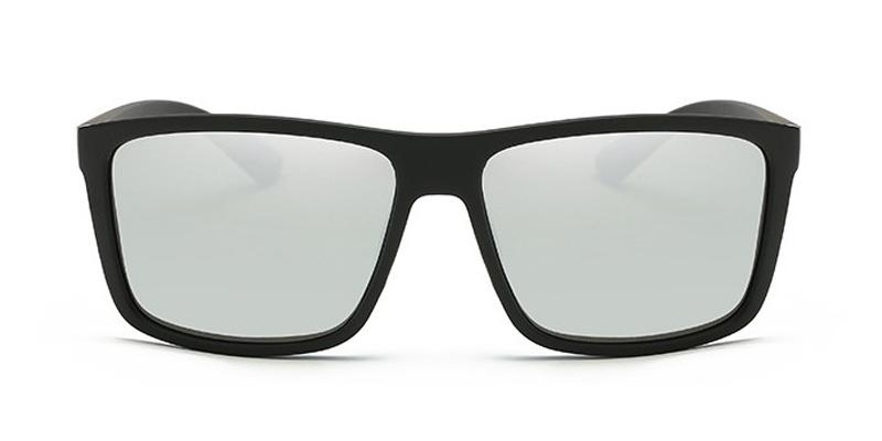 b52872f1a New Black Square Frame Polarized Sunglasses Driving Mens Designer ...