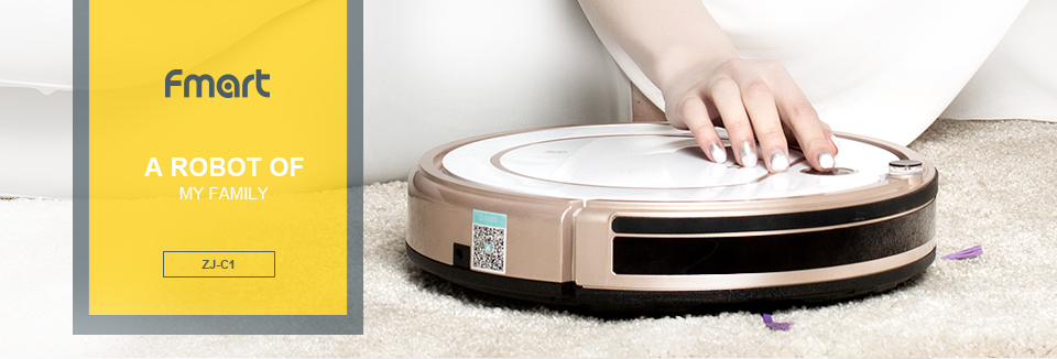 Cleaning Robot Vacuum Cleaner Pet Hair ZJ C1 High Suction Self Charging Robot