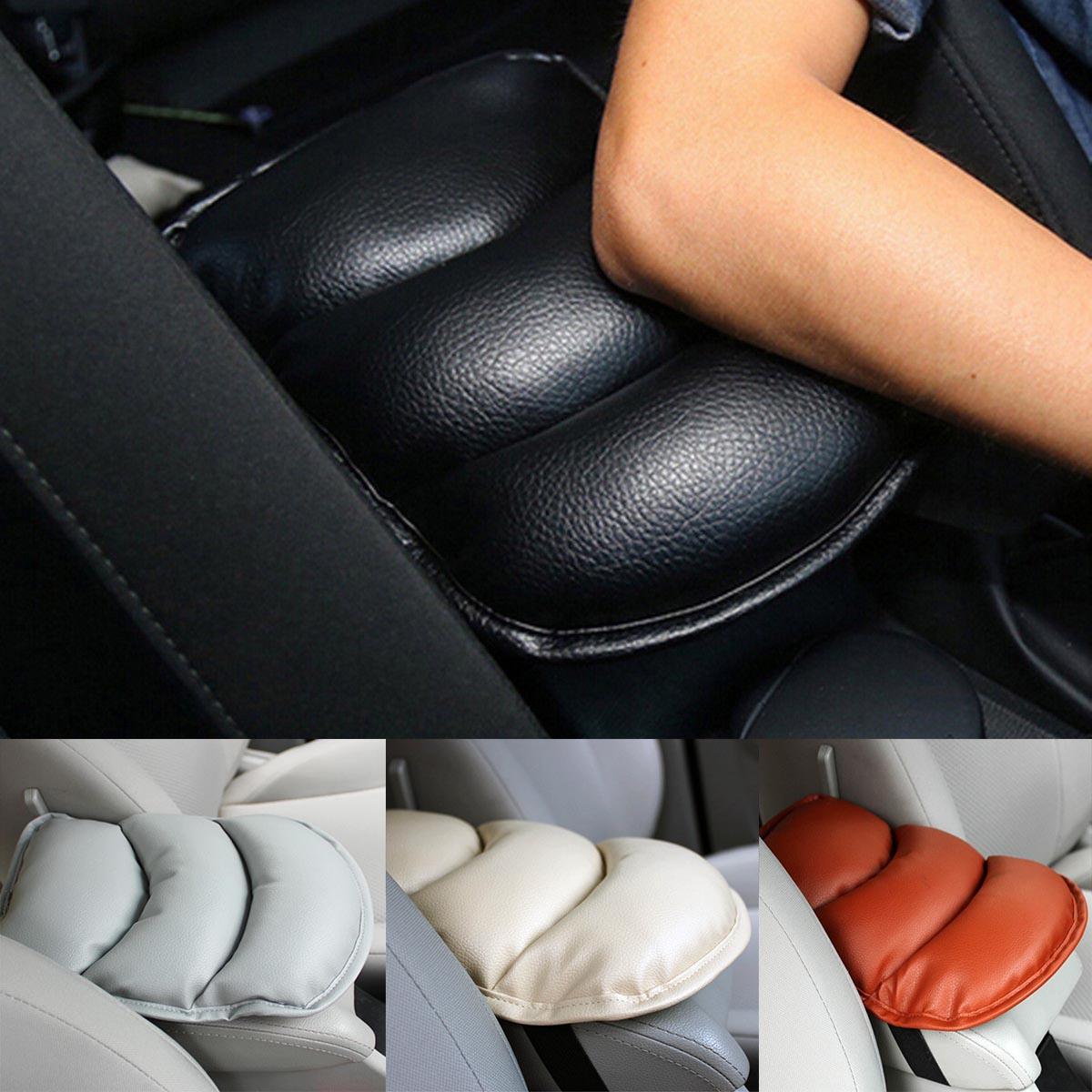 Car SUV Center Box Armrest Console PU Soft Pad Cushion Cover Durable Universal