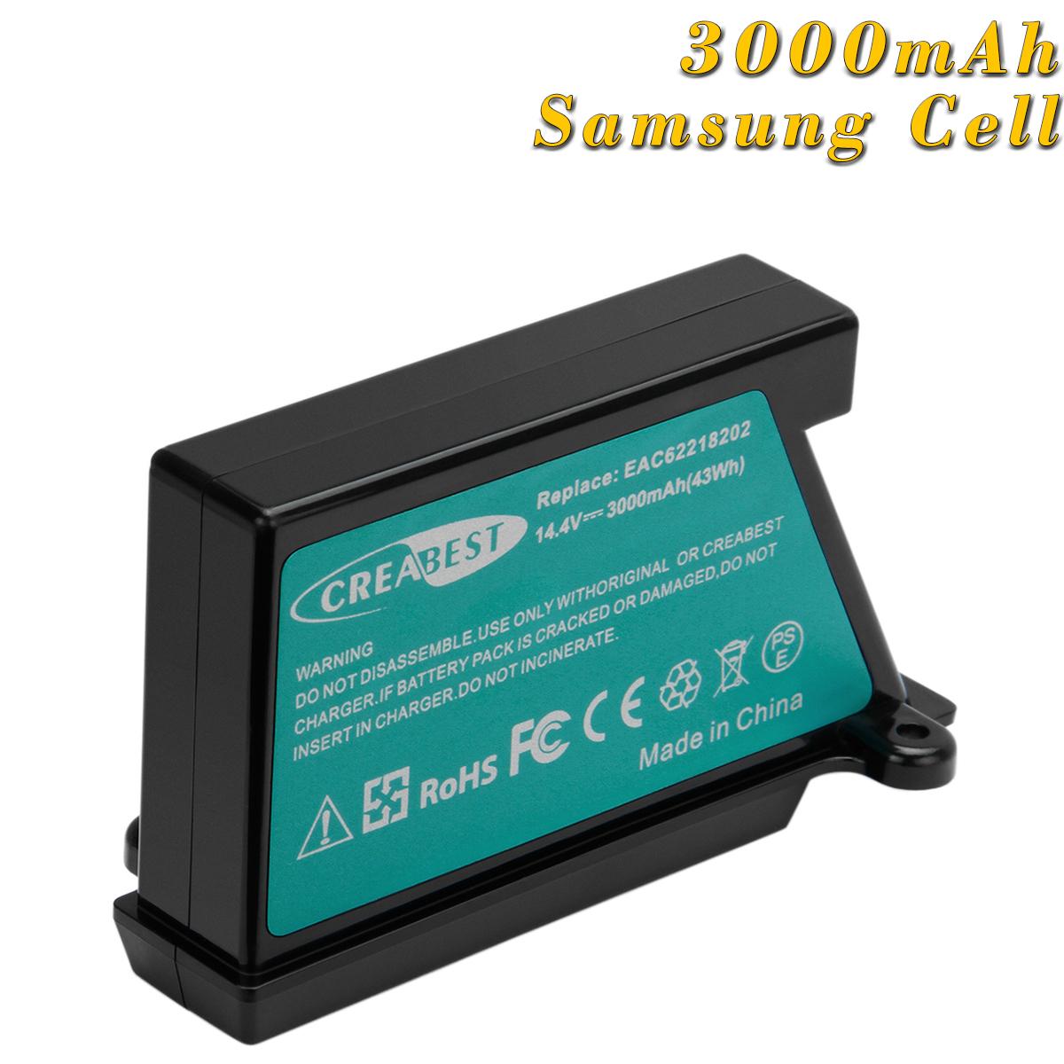 VR64701LVMP Akku Batterie 3000mAh Li-Ion für LG Hom-Bot VR64607LV VR64703LVMB