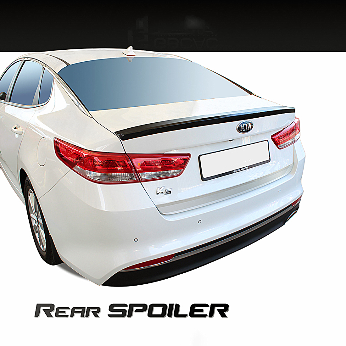 Details About New Rear Trunk Wing Lip Spoiler Painted For Kia Optima 2016 2017 K5