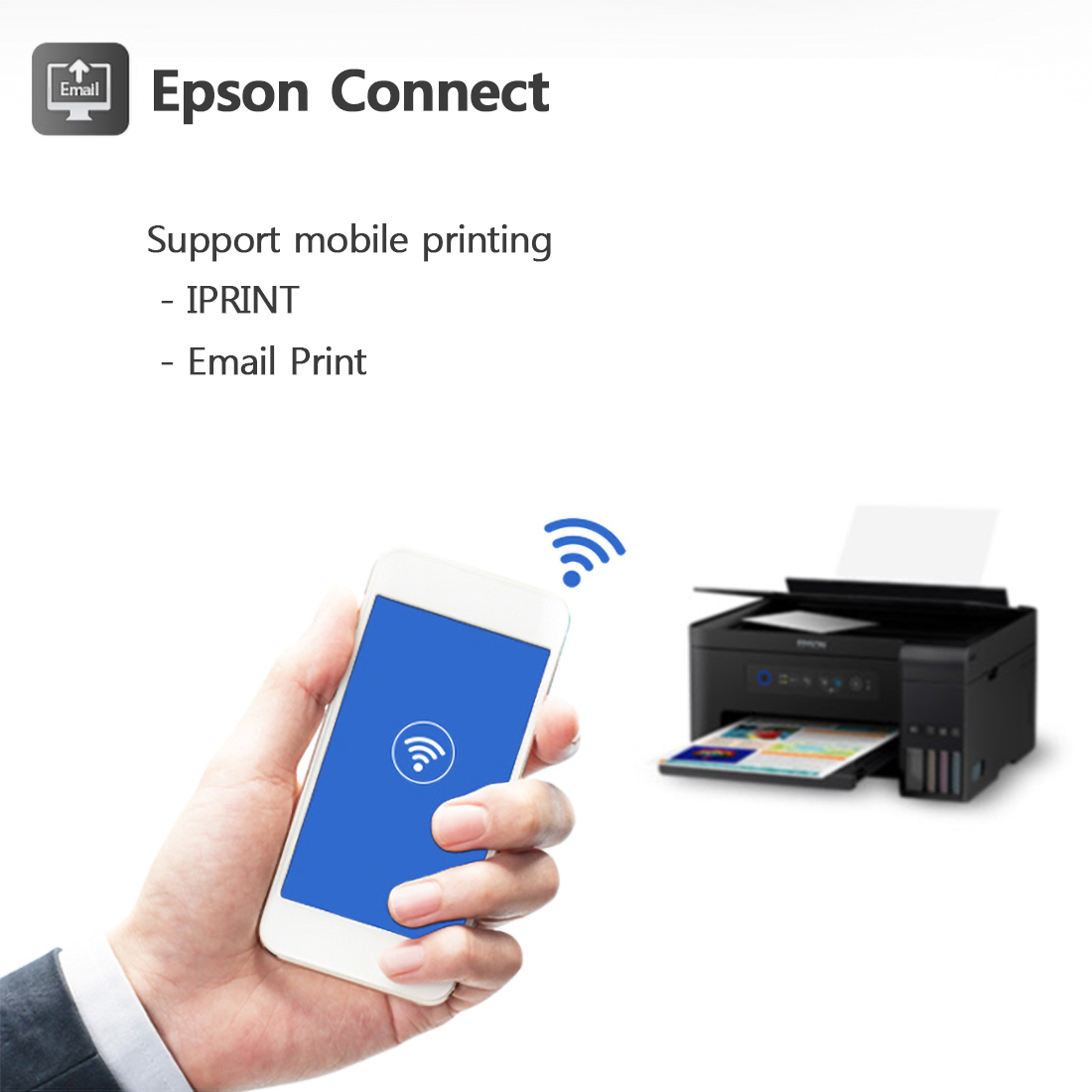 Details about Epson L4150 Wi-Fi All-in-One Ink Tank Printer Scan Copy  Compact