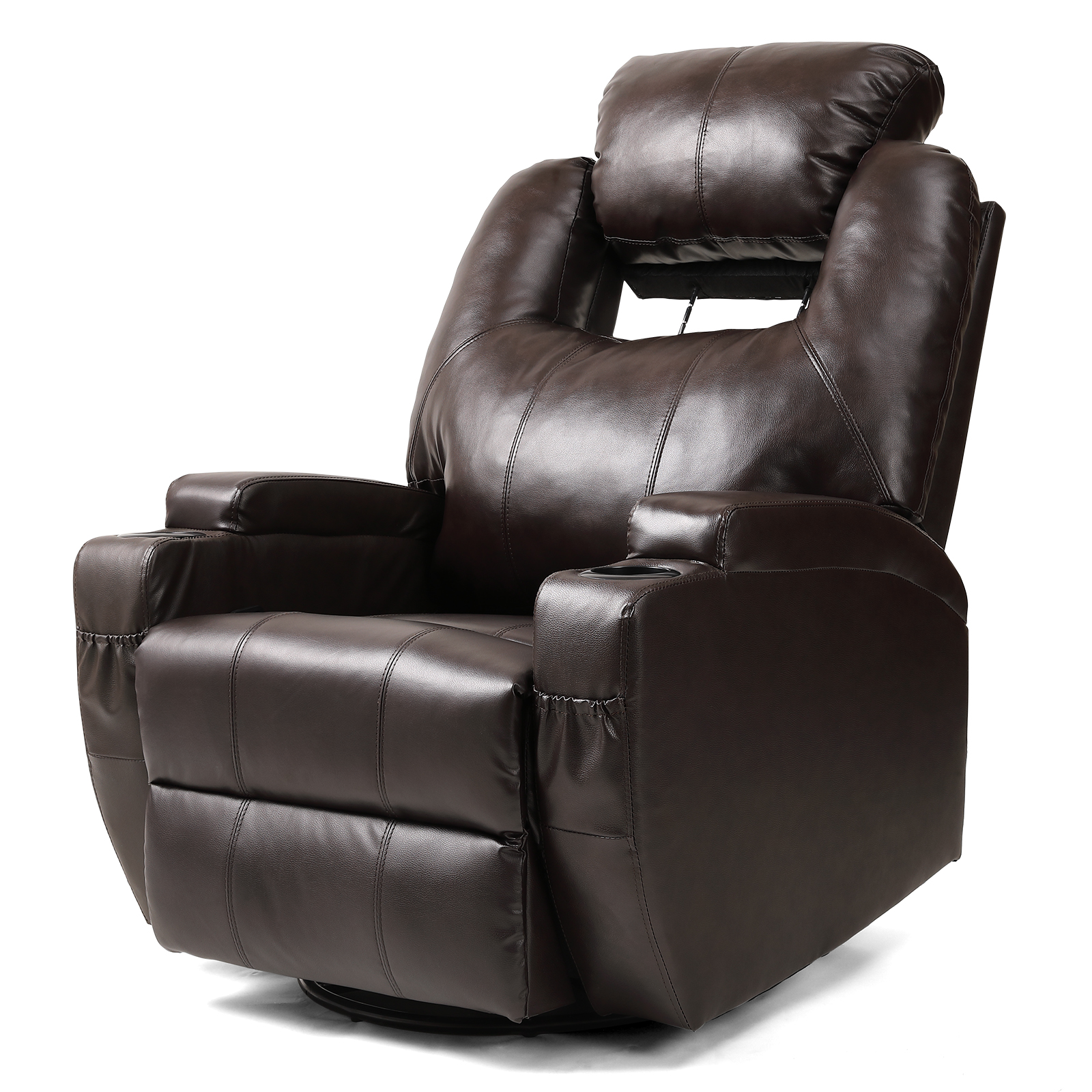 Pleasant Details About Full Body Electric Massage Chair Zero Gravity Recline Deluxe Heated Leather Sofa Bralicious Painted Fabric Chair Ideas Braliciousco