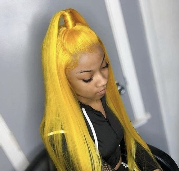 Details about Women Straight Lace Front Wig