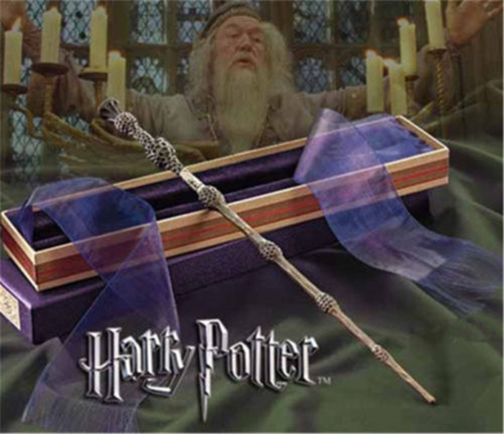 Harry Potter Movie Albus Dumbledore The Elder Cosplay Magic Wand Toy In Box Gift