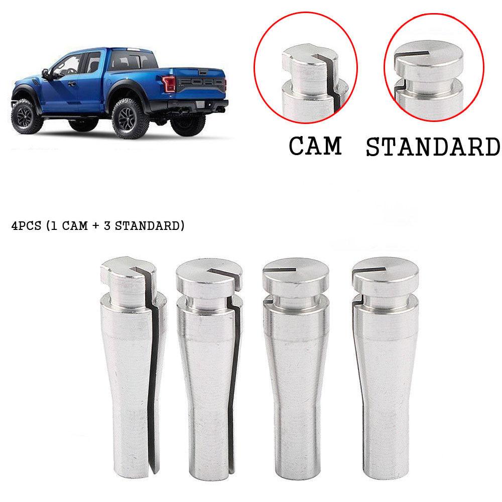 4pcs Set Cab Rear Door Latch Cable Repair F150 F250 F350