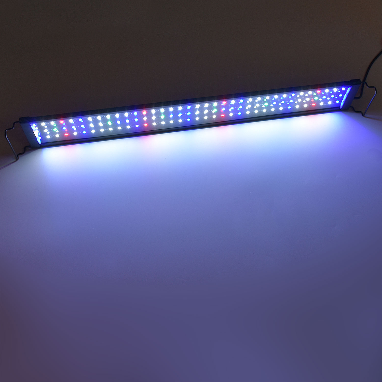 5730 led vollspektrum aquarium beleuchtung 75 95cm lampe f r pflanzen koralle ebay. Black Bedroom Furniture Sets. Home Design Ideas
