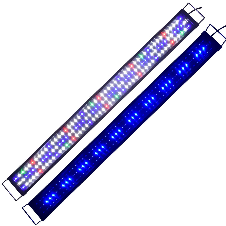 5730 led vollspektrum aquarium beleuchtung 120 150cm lampe. Black Bedroom Furniture Sets. Home Design Ideas